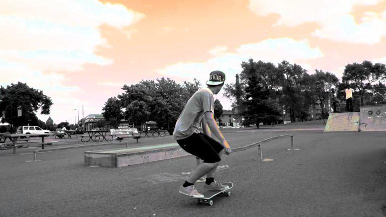 Montreal skateboarding на FS700