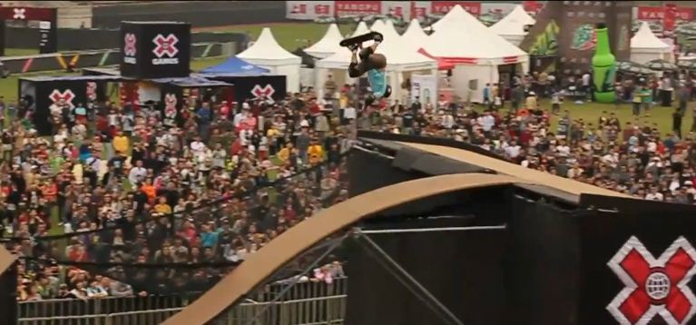 Shanghai X Games of Airwalk skaters