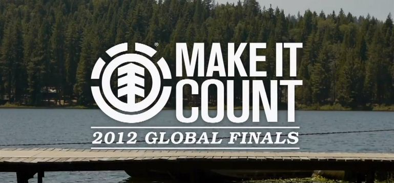 ELEMENT представляет The 2012 MAKE IT COUNT Global Finals