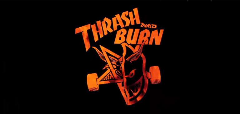Команда Thrash & Burn в Копенгагене