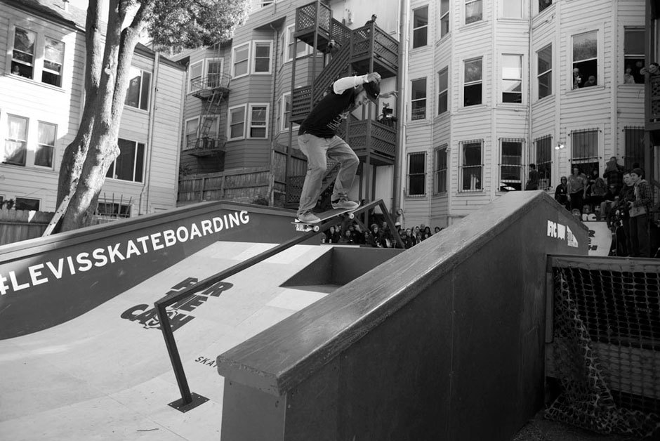 Jack Curtin, switch 50-50
